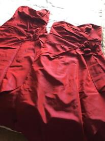 2 Claret Bridesmaid Dresses