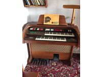 Vintage full size Piano electric organ FREE