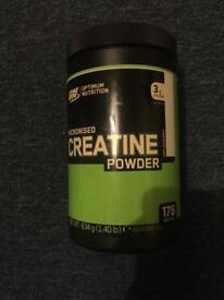 Gold standard creatine powder (sealed)