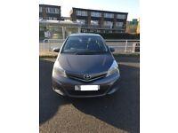 12 months MOT on grey '12 Toyota Yaris. 5-door, 6-speed manual gearbox. £4,750 only