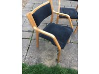 Stacking chair x 4 (BARGAIN)
