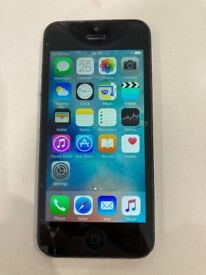 Apple IPhone 5 2012 Model A1429 Cracked screen