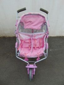 Baby Annabel stroller, high chair, car seat, pushchair, changing station.