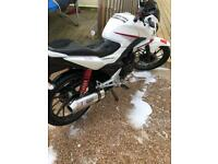 Honda CB125F 2015 model. ((SWAPS FOR ANOTHER 125))