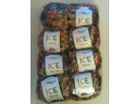 8 balls of Ice Yarns wool