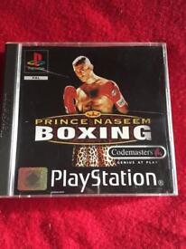 PS1 Prince Nassem Boxing