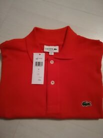 Mens Lacoste Polo Shirt - Red