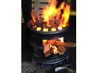 Hand made log/wood burners