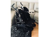 Maclaren double buggy..