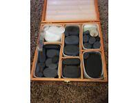 Basalt massage stones +heater