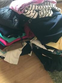 Clothing bundle women's ladies 10/12 job lot