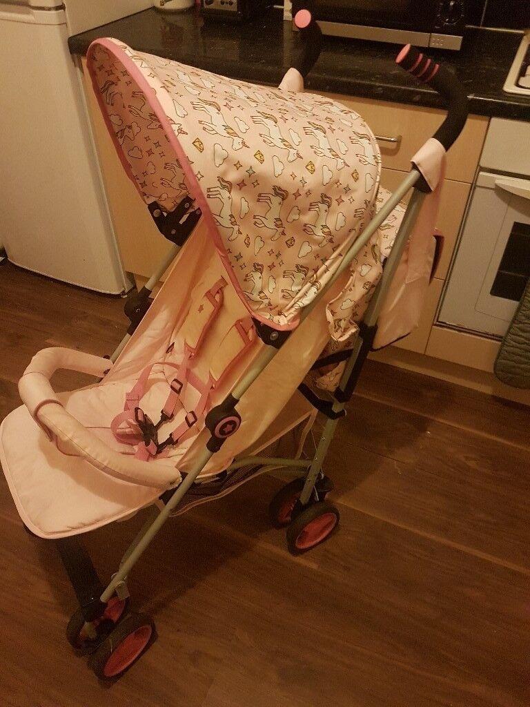 My Babiie Pink Unicorn Stroller In Oldham Manchester