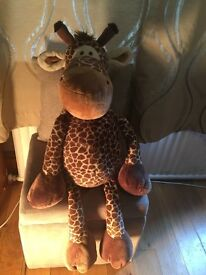 Large Adorable - Wild Friends Giraffe Dangling Teddy - 50cm