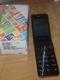 ALCATEL ONE TOUCH 20.12G FLIP PHONE GOLD (OUR REF 13133)