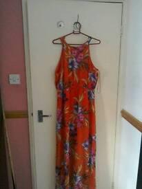 F&f floral maxi dress