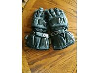 Raven Motorcycle Gloves - XS