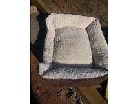 Luxury memory foam small Dog or Cat bed