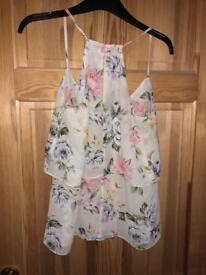 Size 12 floral top