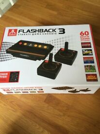 Atari Flashback 3 Classic Game Console (As new in box)