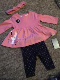 0-3 BNWT 3 piece baby outfit