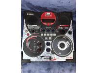 Yamaha DJ scratch mixer machine