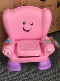 Fisher price ABC chair