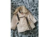 0-3 river island coat for sale, too small for my daughter, text me for details:)