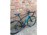 Giant full carbon fibre racing bike