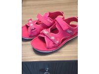 Size 11 Clark's girl sandals