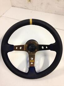Honda Civic type R steering wheel with boss kit
