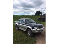 2003 Mitsubishi L200 low mileage