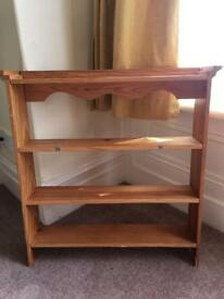 Antique Pine shelf with 3 tiers