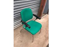 Static green Office chair