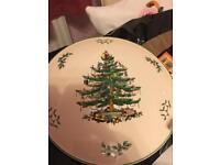 Spode Christmas Cake stand