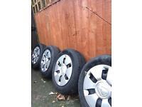 Steel wheels, tyres & trims