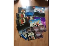 ABBA records LPs job lot