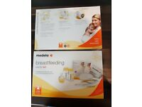 Medela swing electric breast pump, excellent condition, rarely used. And 2 brand new starter kits.
