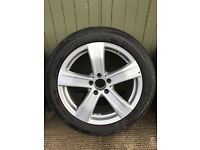 MERCEDES MICHELIN WHEELS & SNOW TYRES (4 ) AS NEW CONDITION