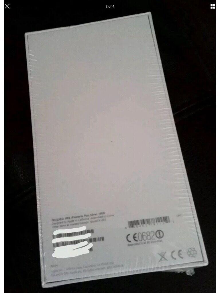 Brand new iPhone 6s Plus 16GB