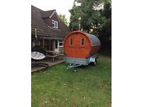Sauna Mobile Sauna Sauna on Trailer Sauna on Wheels Hire Sauna