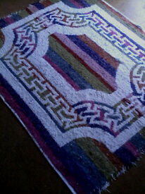 Thick Pile 100% Cotton Rug