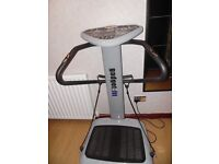 Vibration plate - excercise machine