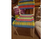 childrens multi coloured chair vgc collection antrim