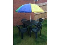 Complete patio set - bargain
