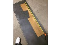 Vinyl Flooring Wooden Planks or Mosaic Tiles