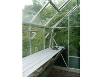decent, well looked after greenhouse, all panes complete