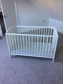 Baby's Ikea Cot (used once)