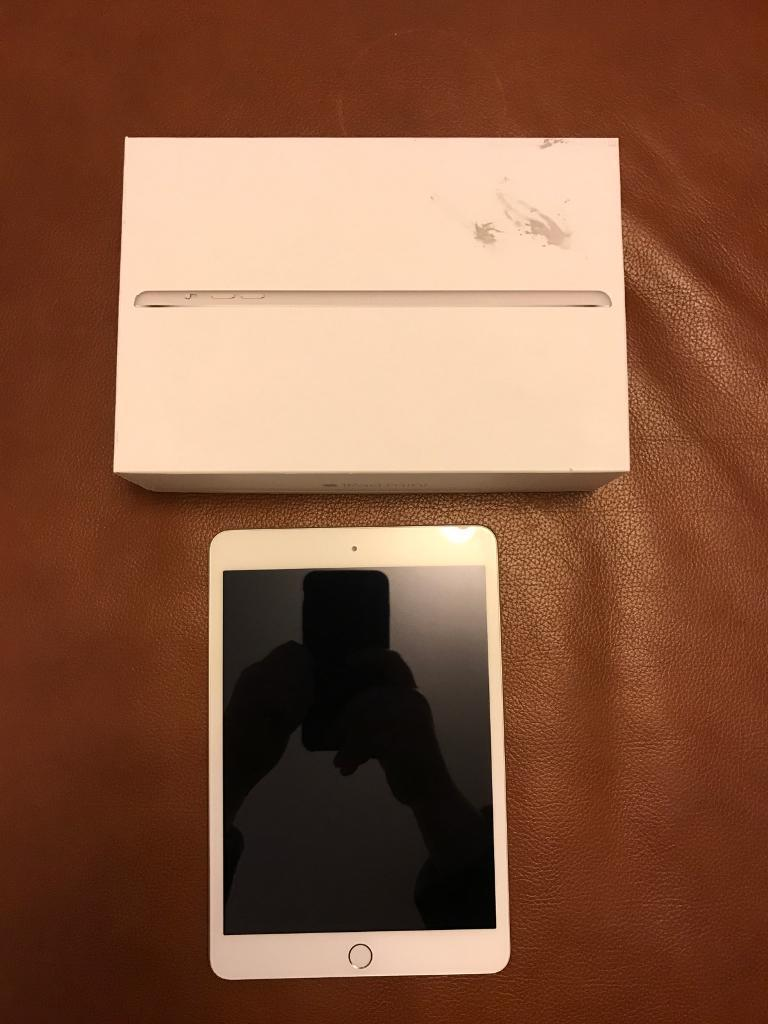 iPad Mini 3Excellent ConditionOffers acceptedin Deeside, FlintshireGumtree - iPad mini 3 wifi 16gb silver Great condition Hardly used Comes with charger, manual and box which has a few marks on it. Will be cleared of all Apple ID and to be set up as a. Ew iPad. Offers accepted but please no silly offers