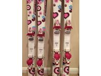 Girls Junior Skis, excellent condition, must be seen!! Sell pairs separately or together