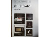 BRAND NEW, UNOPENED: Kenwood Microwave K25MSS11